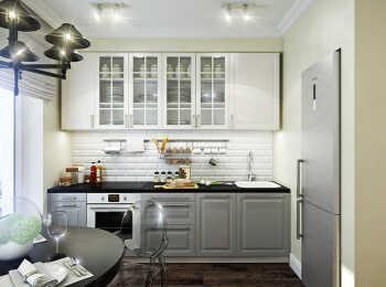 Авторская отделка и меблировка кухни